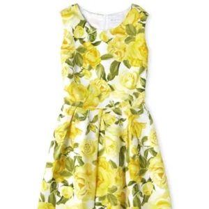 Womens Mommy And Me Floral Matching Pleated Dress